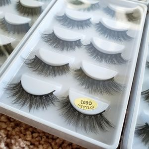 65 pairs of mink false eyelashes